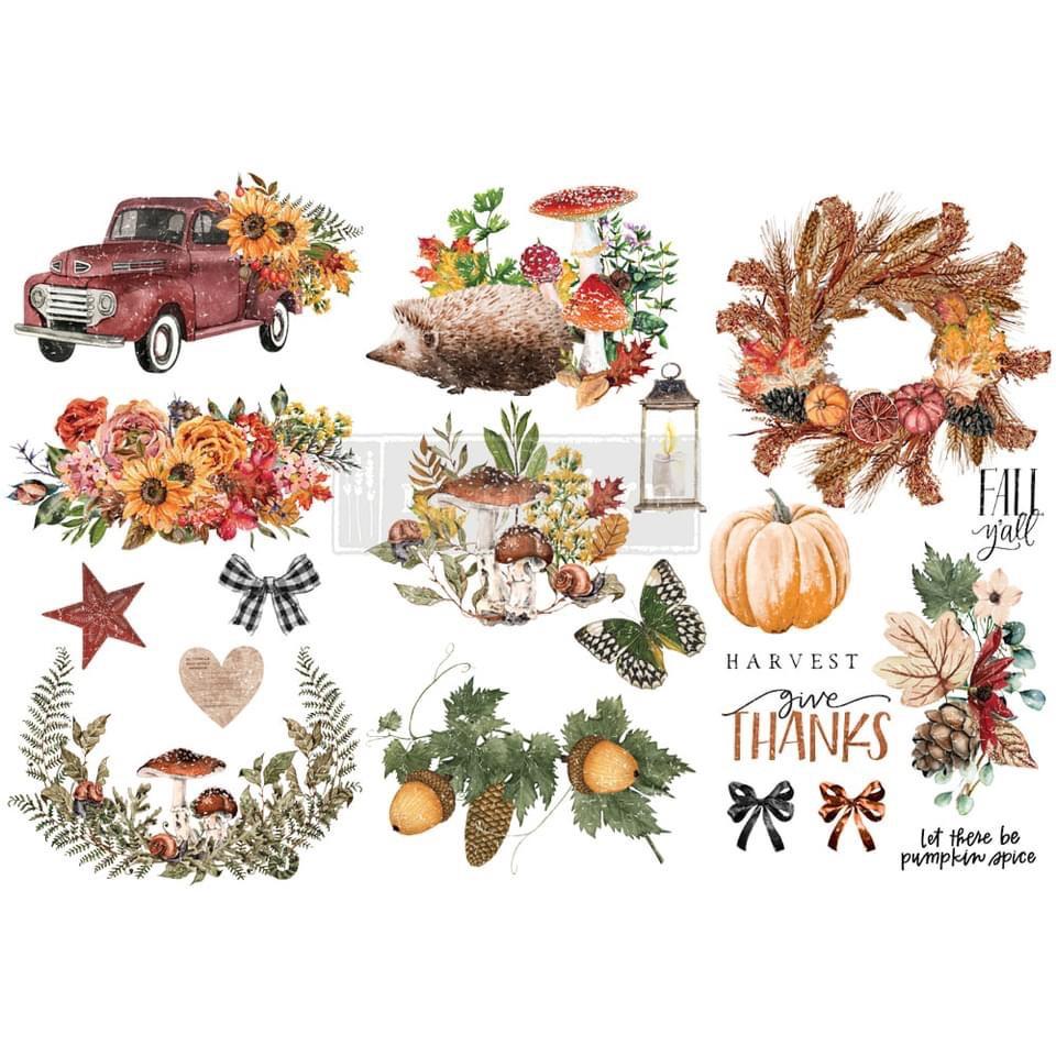 Decor Transfer - Autumn Essentials (Small)