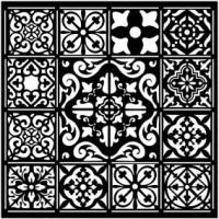 Stencil - Azulejos Tiles by Stamperia
