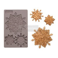 Decor Mould - Snowflake Jewels