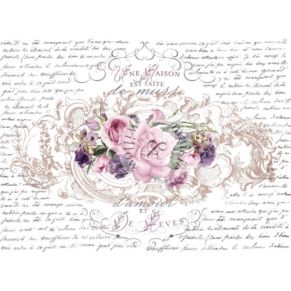 Decor Transfer - Floral Poems