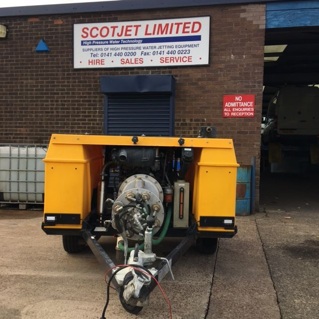 Van Pack Hire Drain Jetter Hire Tow Jetter Hire