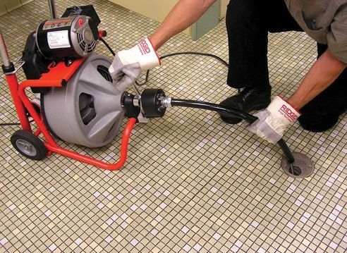 Drain Cleaning Spring Machines