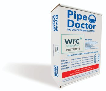 Pipe Doctor Straight Pipe (Patch) Repair Kit 100mm x 550mm