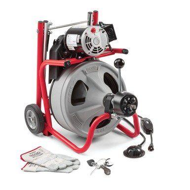 Ridgid K-400 AF W/C-45 IW Drum Machine (230V) 28103