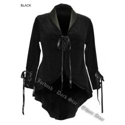 Velvet Swallow Tail Jacket