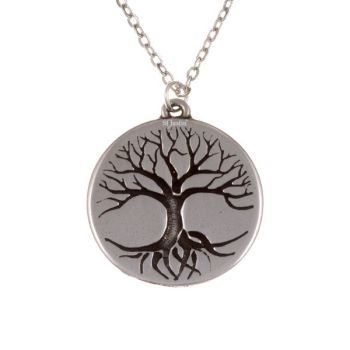 Tree of Life Disc Pendant by St Justin of Penzance