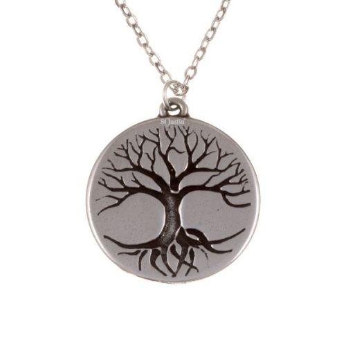 Tree of Life Disc Pendant