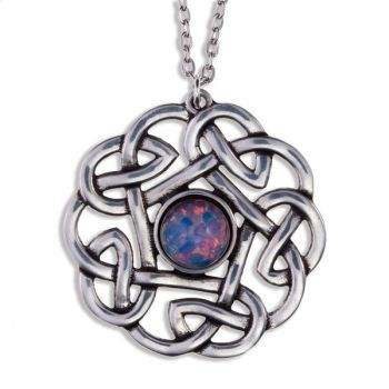Pentagon Knot Pendant by St Justin of Penzance