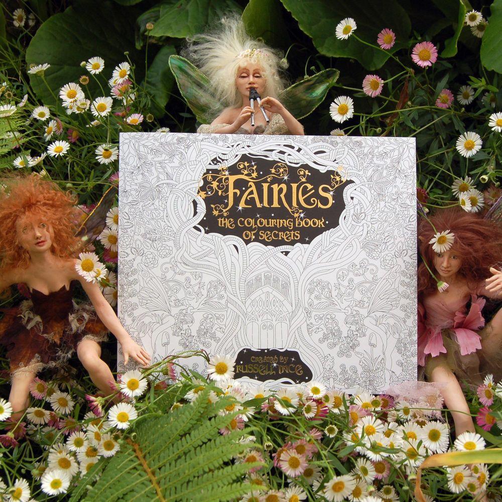 Fairies. The Colouring Book of Secrets by Russell Ince