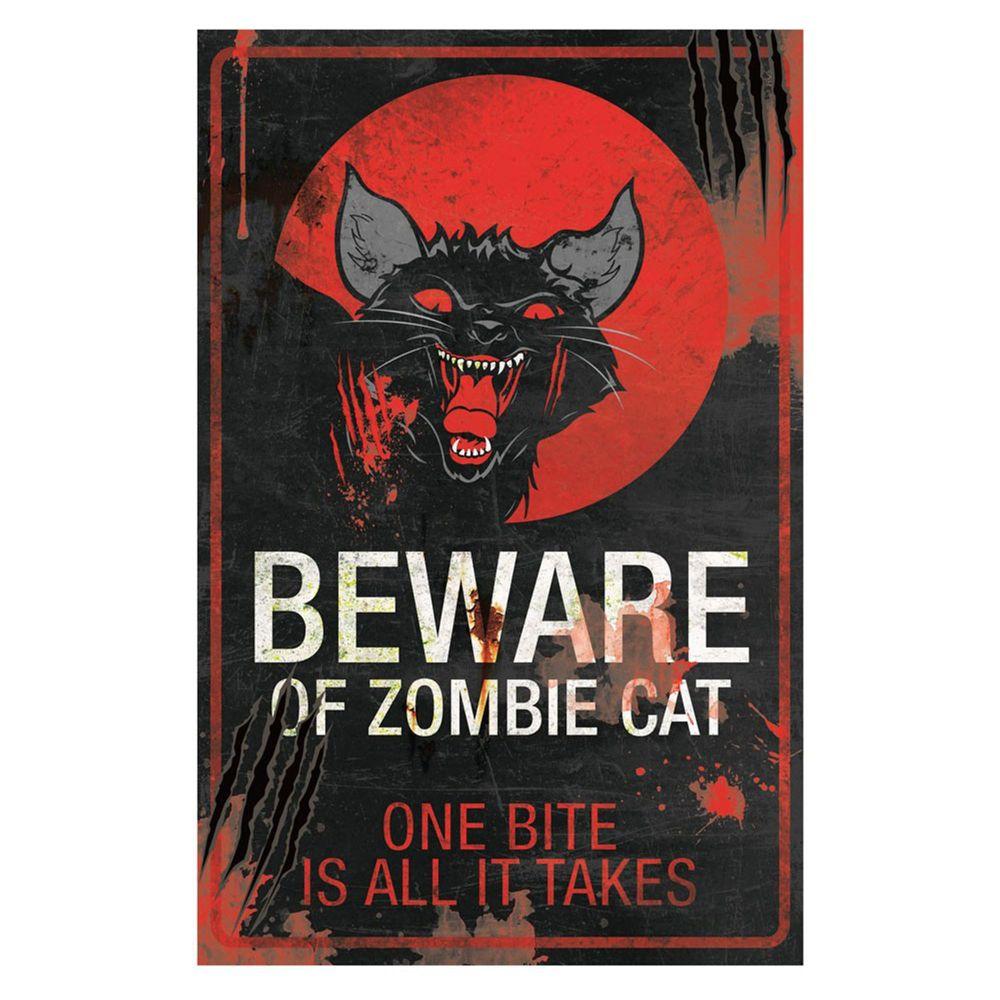 Zombie Cat Sign