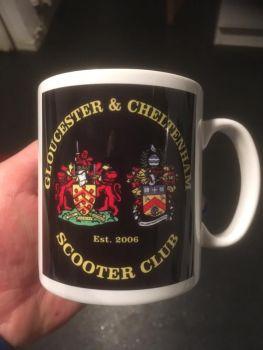 Gloucester & Cheltenham Scooter Club standard Mug