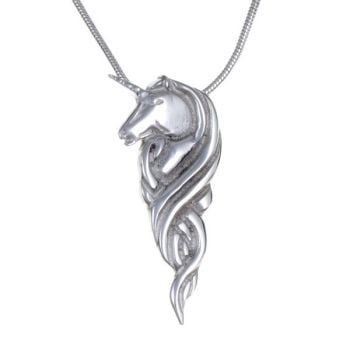 Unicorn Pendant by St Justin of Penzance