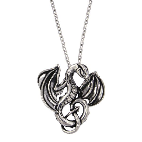 Winged Dragon Pendant