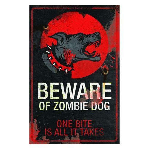 Zombie Dog Sign