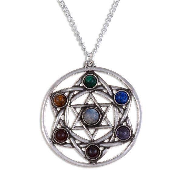 Star chakra pendant