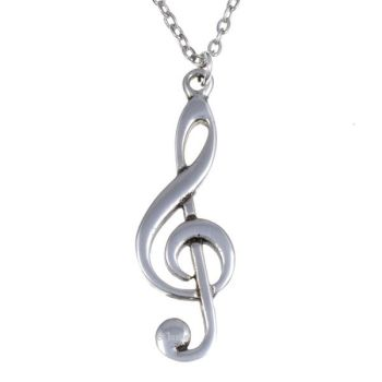 New! Treble Clef Pendant
