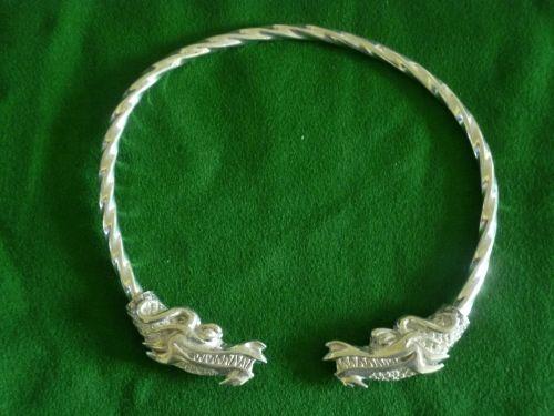 Beautiful Midgard Dragon Viking Neck Torc