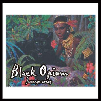 Incense Cones - Black Opium