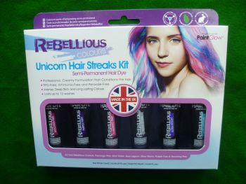 Unicorn Hair Streaks Kit