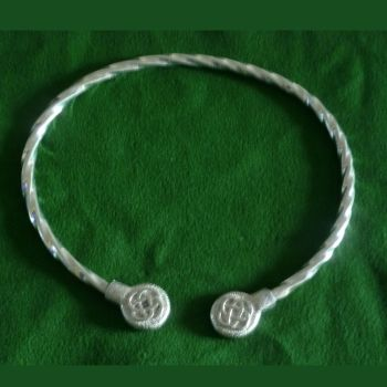 Beautiful Knotwork Viking Neck Torc