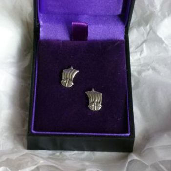 Viking Ship Earrings *WWPE Exclusive* by St Justin of Penzance