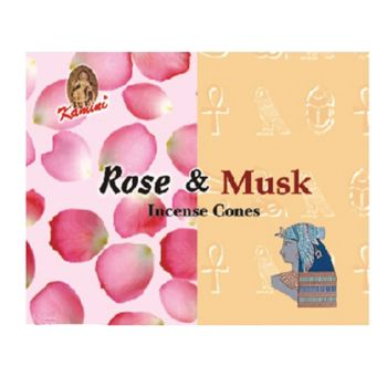 Incense Cones - Rose and Musk