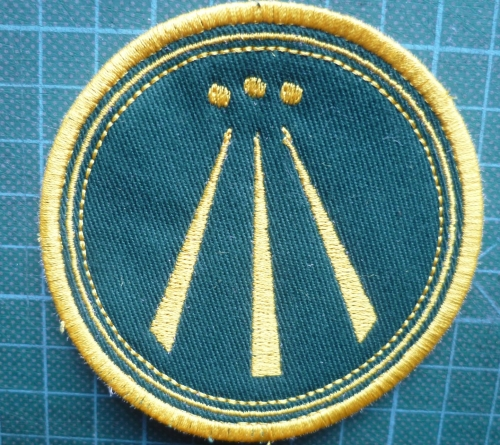 Patch - AWEN. Embroidered sew-on patch