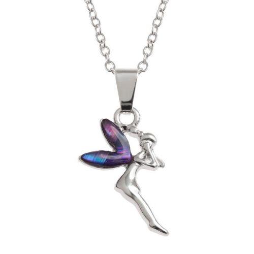 Delightful Purple Fairy Pendant