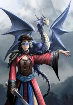 Look to the East Greetings Card by Anne Stokes
