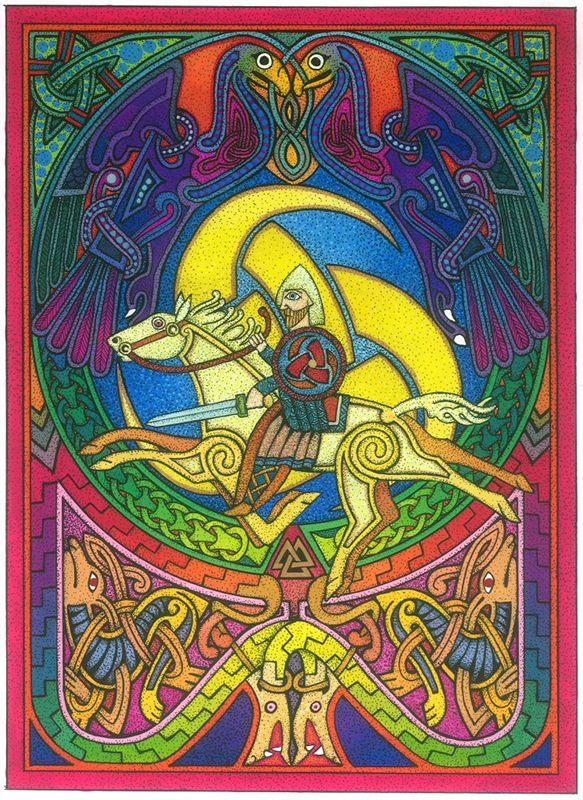 Odin Card by Courtney Davis