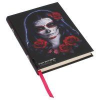 Embossed Journal Sugar Skull 17cm