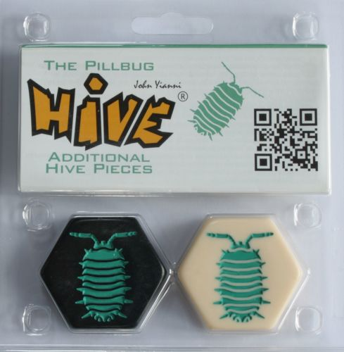 Pillbug Expansion for Hive Boardgame