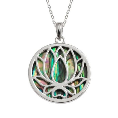 Lovely Lotus Pendant