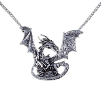 Rock Dragon Necklace by St Justin of Penzance