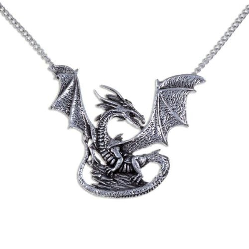 Rock Dragon Pendant by St Justin of Penzance