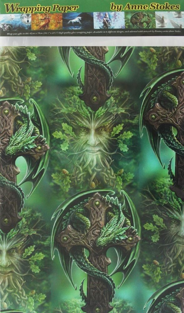Woodland Guardian Wrapping Paper