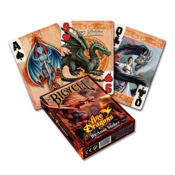 Anne Stokes Age of Dragons Playing Cards (Bicycle Cards)