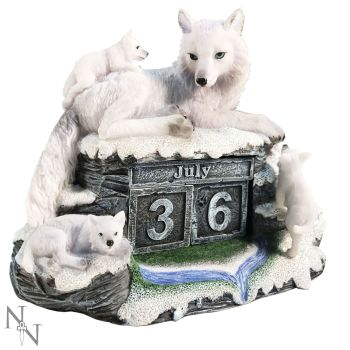 Mother's Watch Wolf Calendar