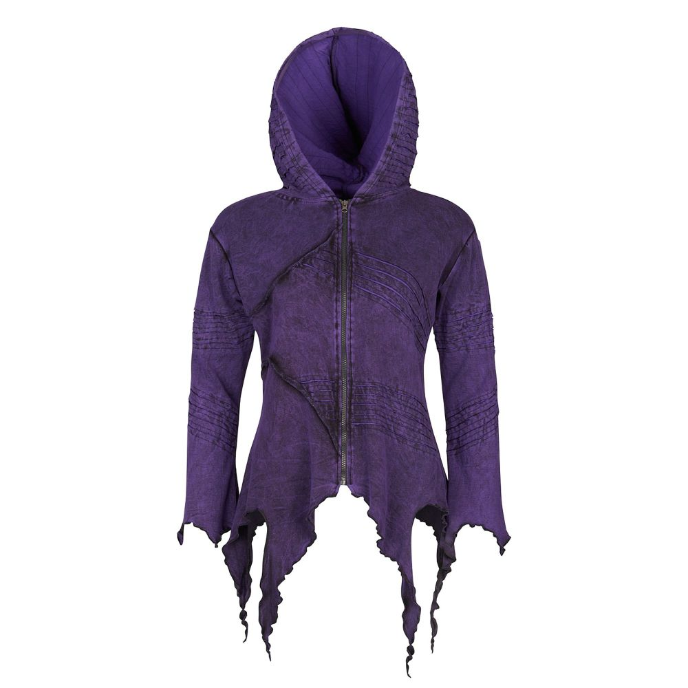 Pixie Hooded Jacket with long pointed hood