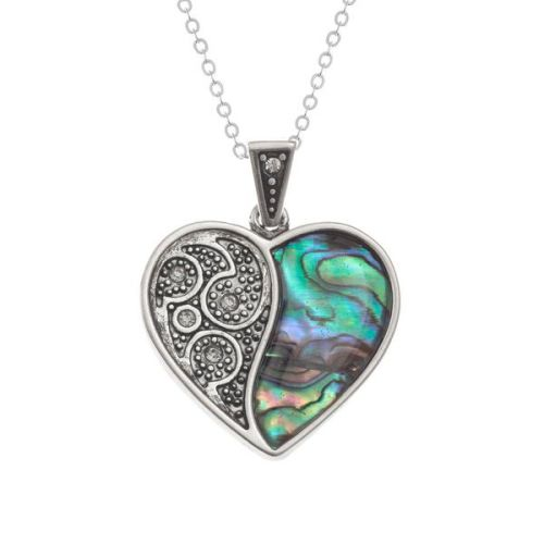 Ornate Heart Pendant