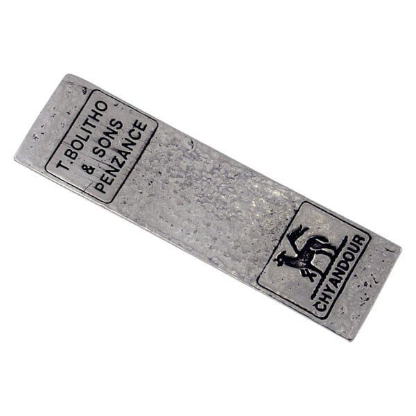 Bolitho Cornish tin ingot paperweight (small)