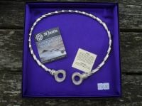 Beautiful Loop design Viking Neck Torc *WWPE Exclusive* by St Justin of Penzance