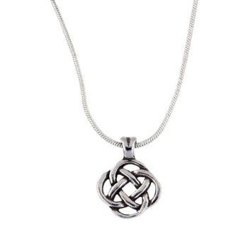 Square Knot Pendant by St Justin of Penzance