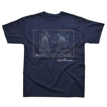 Dalek Blueprint TShirt