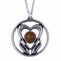 Love pendant by St Justin of Penzance