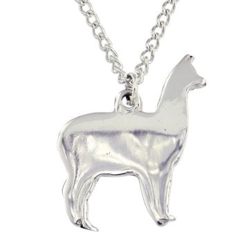 Llama Pendant by St Justin of Penzance