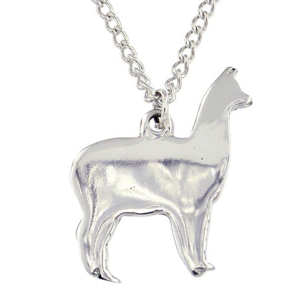 Llama Pendant by St Justin of Penzance
