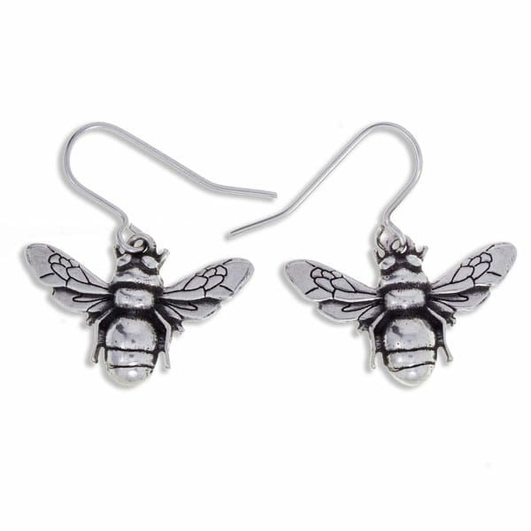 Bee Earrings by St Justin of Penzance