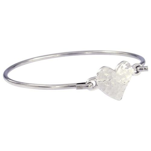 Heart Clip Bangle