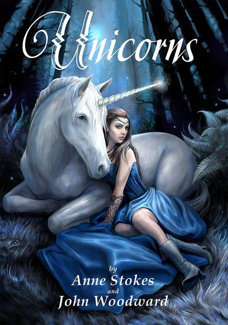 Anne Stokes Unicorns Book